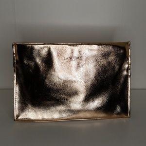 Metallic Rose Lancome Pairs Makeup Bag